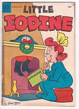 LITTLE IODINE #27, Good Minus, Christmas Cover, DELL COMICS, 1955
