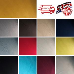 Plush Velvet Upholstery Fabric Soft Feel High Quality Craft Sofa Stool Cover