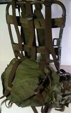 Vintage United States Army Vietnam Era Jungle Rucksack Backpack