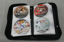 Sony PlayStation PS2 Lot 92 Game Discs with Protective Case Game List Included