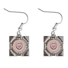 Portal Companion Cube Earrings  - Pre-Owned