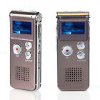 Rechargeable 16GB LCD USB Digital Audio Voice Recorder Dictaphone MP3 Player