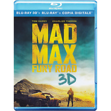 Blu Ray MAD MAX - Fury Road - 3D (2 Blu Ray+Br+E-Copy) ..NUOVO