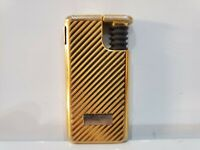 Working Vintage IM Corona Gold Tone Butane Lighter