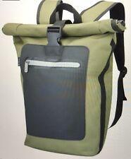 Ben Sherman Panel Roll Top Backpack Khaki / Black