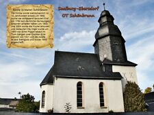 Saalburg - Ebersdorf OT Schönbrunn Kirche St.Marien Thüringen 158