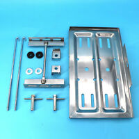 Universal Stainless Steel Battery Tray Holder Hold Down Kit W/ T Nut fasterner