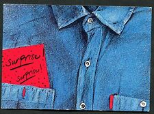 C1990's Art Card - 'Surprise! Surprise!', Les Editions Blabla, Linda Dangoor