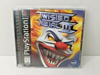 Twisted Metal III 3 PlayStation PS1 Game Black Label - CIB Complete