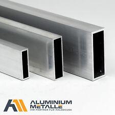 Aluminium Rechteckrohr Alu AlMgSi05 Profil Kantrohr 6060 Hohlrohr Vierkantrohr