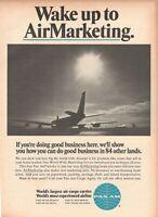 1967 Original Advertising' Vintage Pan-Am American Airways Marketing