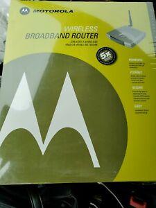 Motorola WR850G 802.11g Wireless Broadband Router NEW