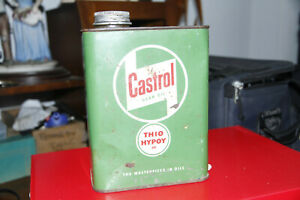 Vintage Castrol 3 Pint Gear oil Can. Full