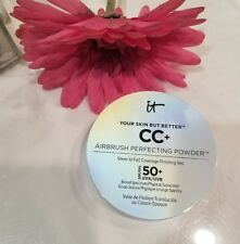 IT COSMETICS ☆Your Skin But Better CC+ Airbrush Perfecting Powder in LIGHT☆ READ