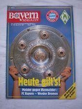 Orig.PRG   1.Bundesliga  1988/89   FC BAYERN MÜNCHEN - WERDER BREMEN  !!  SELTEN