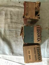 Mazda Ediswan PEN384 x3 vacuum tubes. NOS. Original packaging. Vintage.