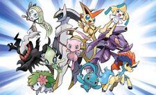 11 Mythical Pokemon, Pokemon 20th Anniversary.