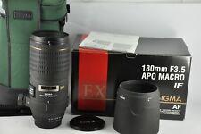 Sigma EX APO Macro DG HSM 180mm F3.5 Lens for Nikon D600 D50 D100 D200 D90 D3