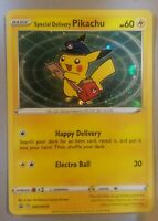Special Delivery Pikachu SWSH074  Pokémon Center Promo +SWIRL