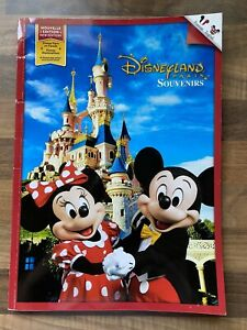 DISNEYLAND PARIS  EXCLUSIVE SOUVENIR BOOK- 64 PAGES- ENGLISH/FRENCH- 25th ANNIVE