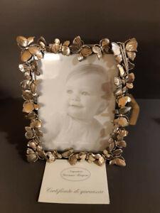 GIOVANNI RASPINI Cornice Farfelle 14 cm in argento 800