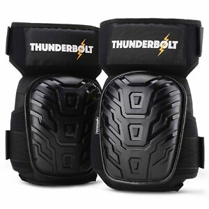 Thunderbolt Professional Knee Pads for Work, Construction, Gardening, Flooring