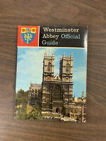 Westminster Abbey Official Guide, late 1960's?