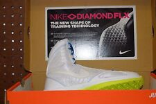 Womens Nike Zoom Bold Sister MD+ Shoes White Green Blue Sz 6 or 7.5