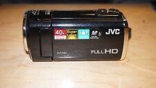 JVC GZ-E100 Camcorder -  Black