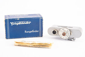 Voigtlander 93/184 Accessory Hot Shoe Rangefinder Vito Cameras in Box V12