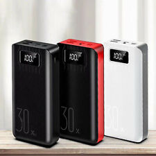 Power Bank 30000mAh External Battery Pack For Smart Phones Android Phone