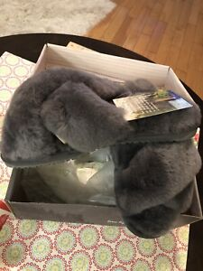 Bearpaw Bliss Womens Comfy Slippers Charcoal - 10 Medium