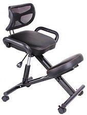 Kneeling Chair,Orthopaedic Stool Posture Frame PU Leather-87172