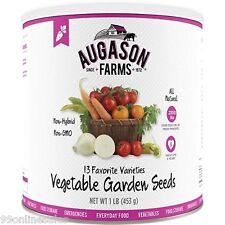 Augason Farms Non-Hybrid Vegetable Garden Seeds Emergency Disaster Survival Food