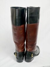 Ralph Lauren leather riding boots, Size 7 women's boots