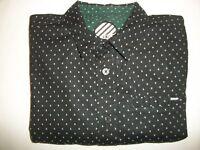 ERG Men's Long Sleeve Casual Dress Shirt - Size Large