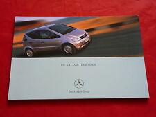 Mercedes w168 a-clase a 160 CDI a 170 CDI a 140 a 160 a 190 folleto de 2000
