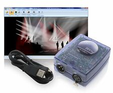 Sunlite SLMEV Magic 3D EasyView Visualizer USB DMX Input Interface by Nicolaudie