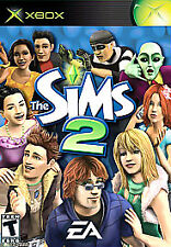 THE SIMS 2 ORIGINAL XBOX DISC ONLY