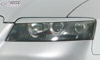 RDX Scheinwerferblenden AUDI A4 B6 8H Cabrio Böser Blick Blenden Spoiler Tuning