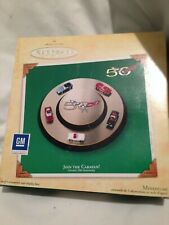 "Hallmark Miniature Ornament ""Join The Caravan"" 2003 - Corvettes 50th Anniversary"