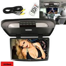 "18.5"" TFT LCD Car Monitor Car Roof Mount Wide Screen Monitors LED Light Black"