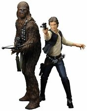 STAR WARS Han Solo & Chewbacca Kotobukiya ArtFX+ Statue - Official