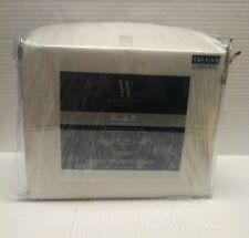 Wamsutta 625-Thread Count Pima Cotton Cal King Sheet Set Solid Stone