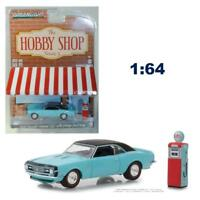 Greenlight 97050B The Hobby Shop S5 1968 Chevy Camaro SS w/ Gas Pump 1:64