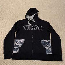 2Pac Tupac Shakur Hoodie Sweatshirt Rap Hip Hop Men's Medium