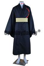 Tsubasa: Reservoir Chronicle Black Steel Kurogane Cosplay Costume