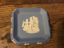 Wedgewood blue Peter rabbit 4� square plate