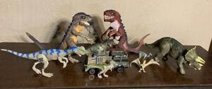 Vintage Jurassic Park Dinosaur Lot Triceratops 1997 Amblin Hasbro