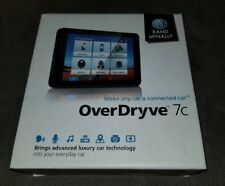 Rand McNally OverDryve 7c Connected Car Tablet with GPS - Black